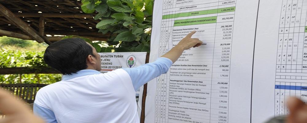 Album : Presiden Cek Dana Desa di Tuban